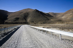 A road on himalayas Royalty Free Stock Images