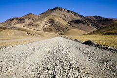 A road on himalayas Royalty Free Stock Photography
