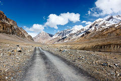 Road in Himalayas Stock Photography