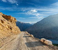 Road in Himalayas Stock Photos