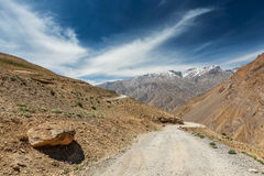 Road in Himalayas Royalty Free Stock Photo