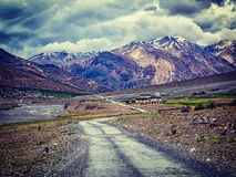 Road in Himalayas Stock Images