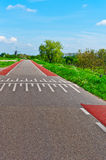 Road in Holland Stock Photos