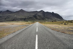 Road in Iceland stock images