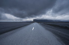 Road in iceland Royalty Free Stock Photography