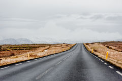 Road in Iceland Royalty Free Stock Photos