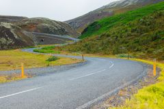 Road in iceland. Stock Photos