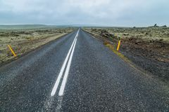 Road in iceland. Stock Images
