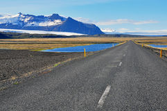 Road in Iceland Stock Image