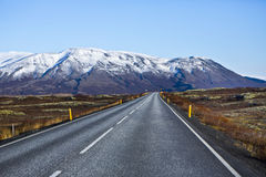 Road on Iceland Royalty Free Stock Photo