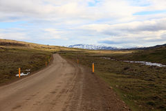 Road in Iceland Stock Photo