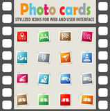 Road icon set Royalty Free Stock Photo