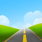 The Road Royalty Free Stock Image