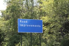 Road Improvement Stock Photo