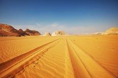 Road In Desert Royalty Free Stock Photo