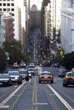 Road In San Francisco Stock Photos
