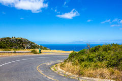 Road by the Indian Ocean Stock Image