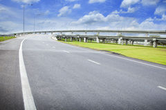 Road and infrastructure. Use for goverment service transportation Stock Photos