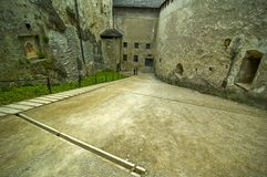 Road Inside Hohensalzburg Royalty Free Stock Photography