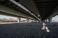 Road interchange. Elevated expressway Stock Photo
