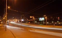 Road interchange in Kyiv Stock Photography