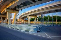 Road interchange Royalty Free Stock Photo