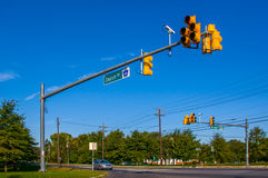 Road intersection Stock Photography