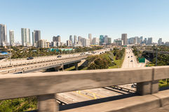 Road intersections near Miami, Florida Stock Photography