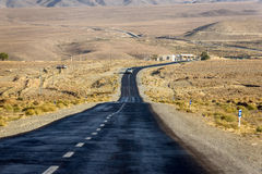 Road in Iran Royalty Free Stock Images