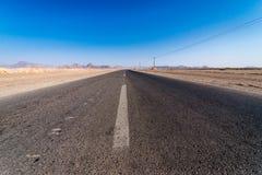 Road in Iran Stock Image
