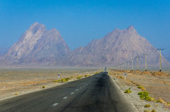 Road in Iran Stock Images