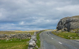 Road in Ireland Royalty Free Stock Image