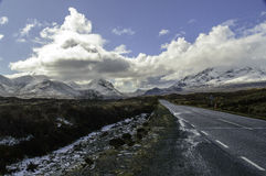 Road on The Isle of Skye Royalty Free Stock Image
