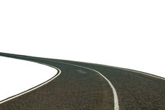 Road isolated Stock Images