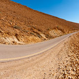Road in Israel Royalty Free Stock Image