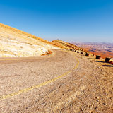 Road in Israel Stock Images