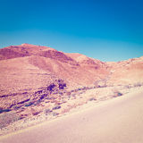 Road in Israel Royalty Free Stock Photos