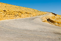 Road in Israel Royalty Free Stock Photography