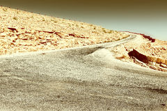 Road in Israel Royalty Free Stock Photo