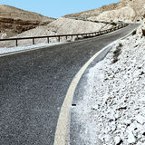 Road in Israel Royalty Free Stock Images