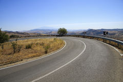Road in itlaly stock images