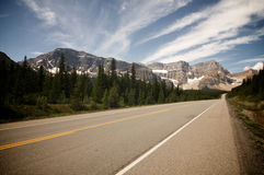 Road @ Jasper Royalty Free Stock Photography