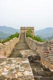 road in Jinshanling Great Wall Royalty Free Stock Image