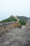 road in Jinshanling Great Wall Royalty Free Stock Images