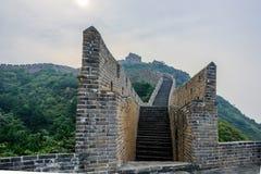 road in Jinshanling Great Wall Stock Images