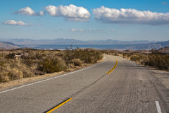 Road in Joshua Tree National Park Stock Photos