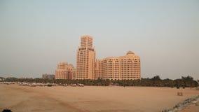 Road journey in Desert Dubai stock video footage