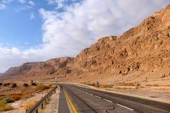 Road in Judea Desert. Royalty Free Stock Image