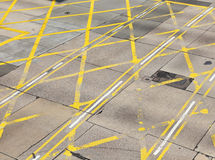 Road junction in city Stock Photography