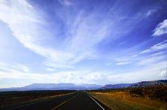 Road in Kaibab Platea, Arizona Stock Images